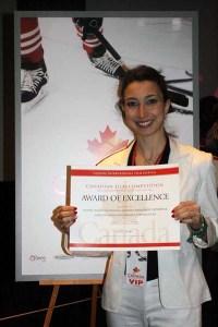 Alissa at the 2014 Canada International Film Festival